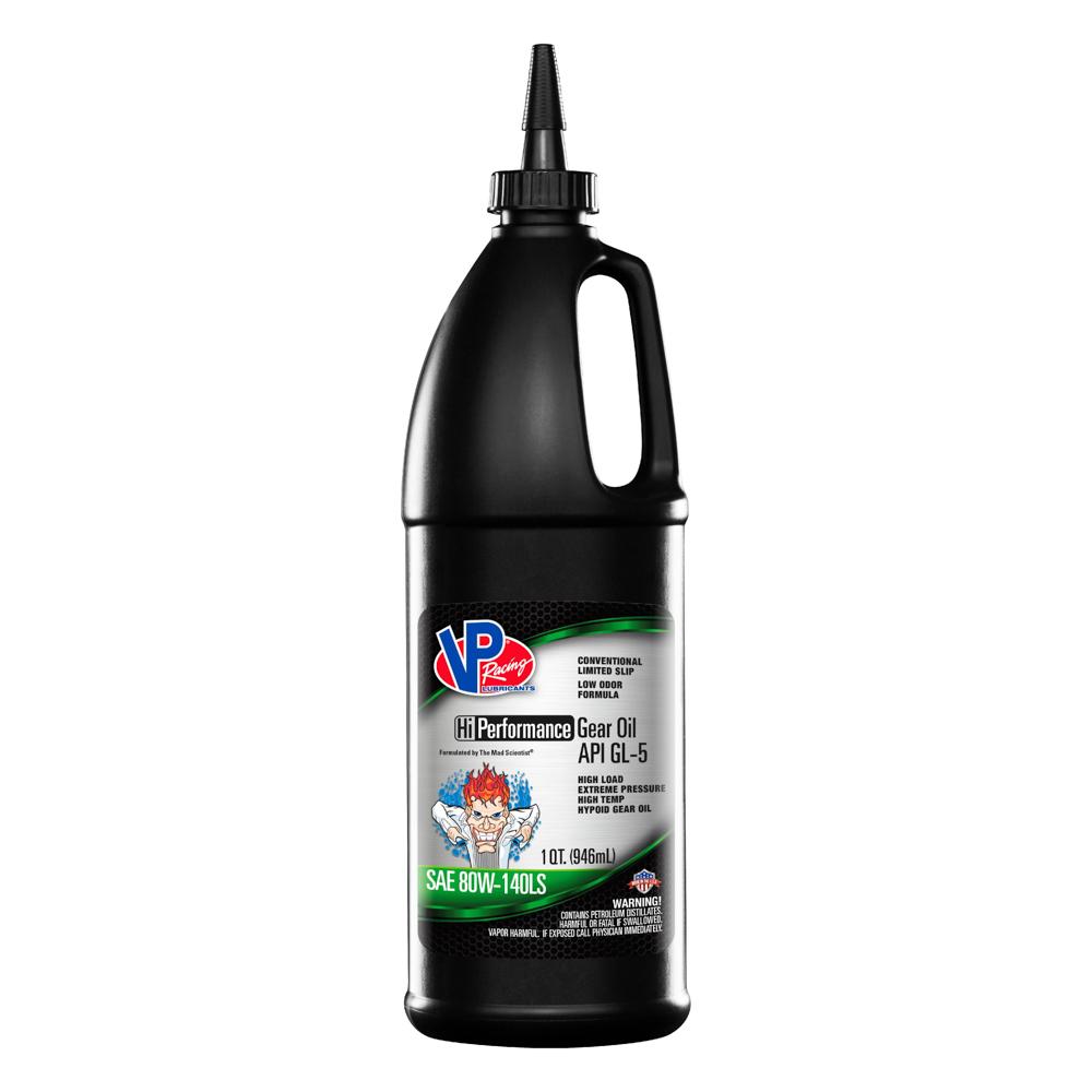 Vp Fuel Containers VP GL-5 80w140 Gear Oil Hi-Perf 1 Qt