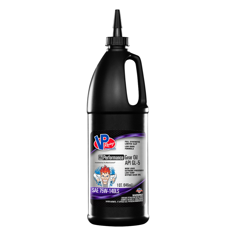 Vp Fuel Containers VP GL-5 75w140 Gear Oil Full-Syn 1 Qt