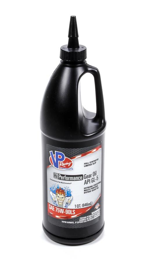Vp Fuel Containers VP 75w90 HI-Perf Gear Oil GL-5 1 Qt - 32oz