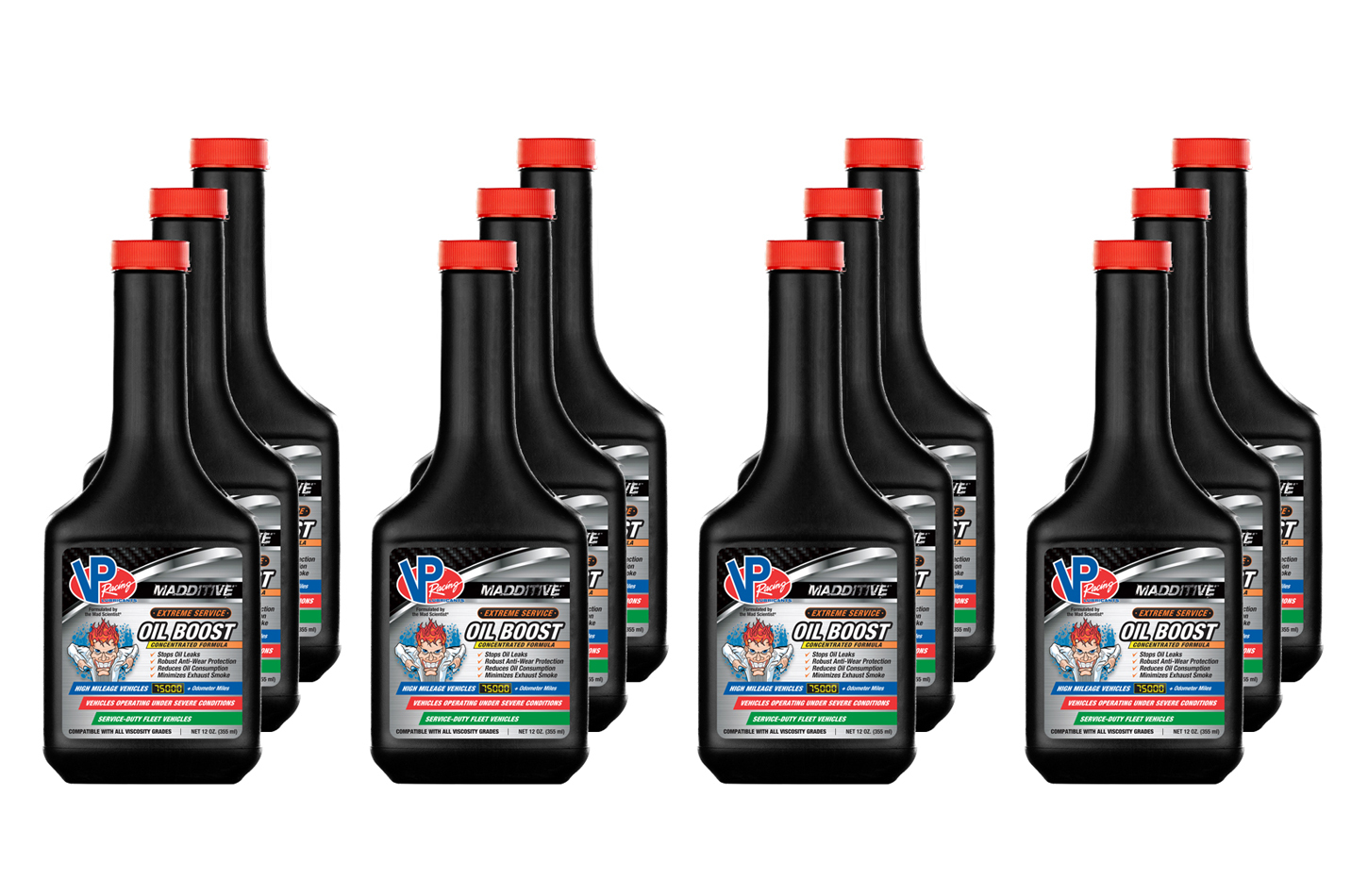 Vp Fuel Containers VP Extreme Service Oil Boost 12oz (Case 12)
