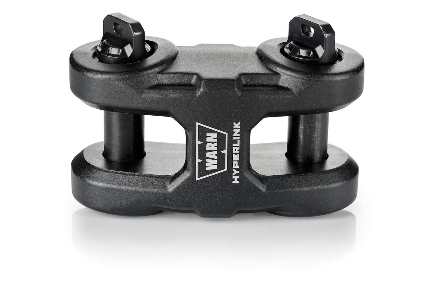 Warn Epic Hyperlink Assembly Dual Pin Black Finish