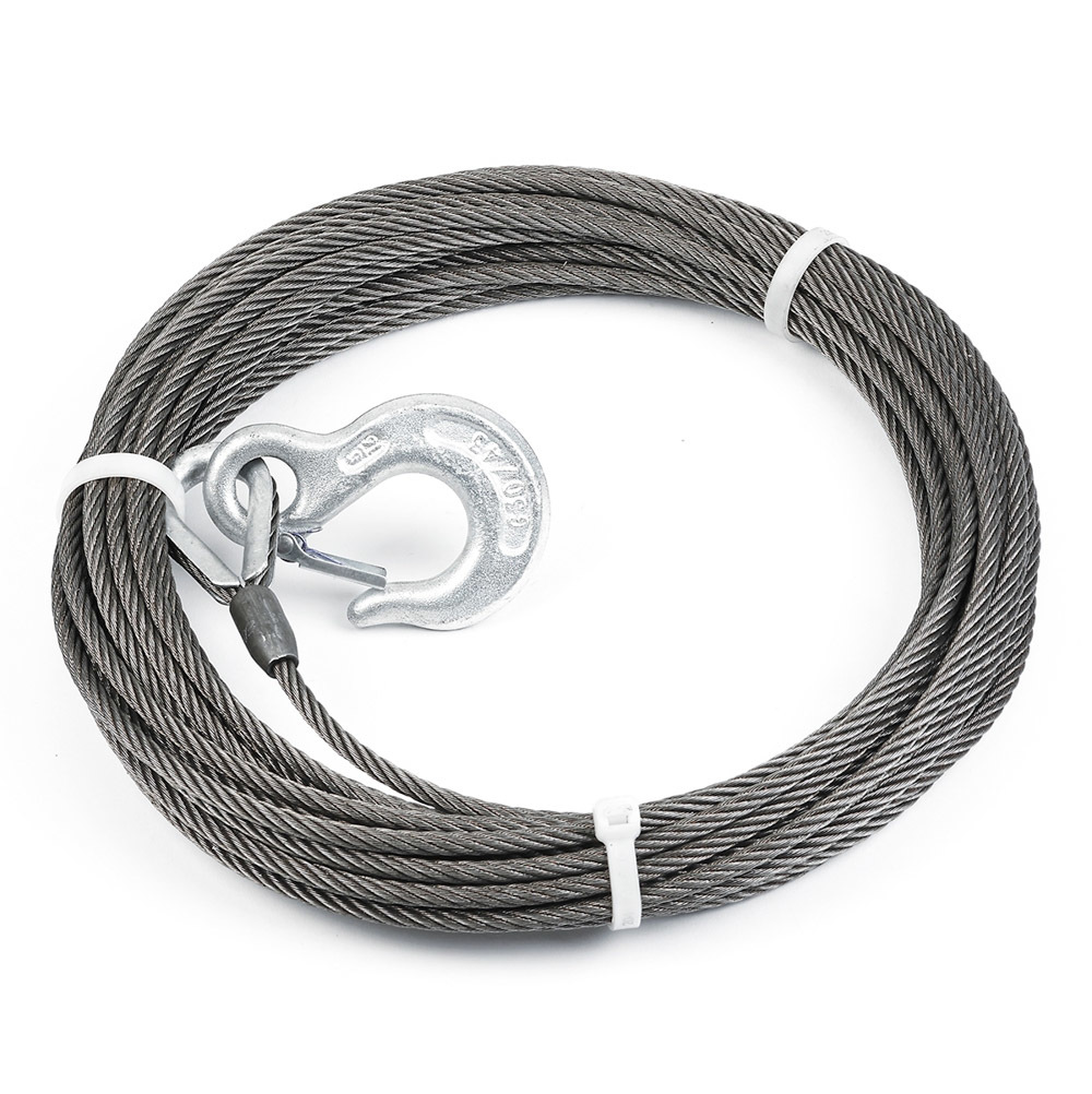 Warn Wire Rope Assy  1/4 x 50