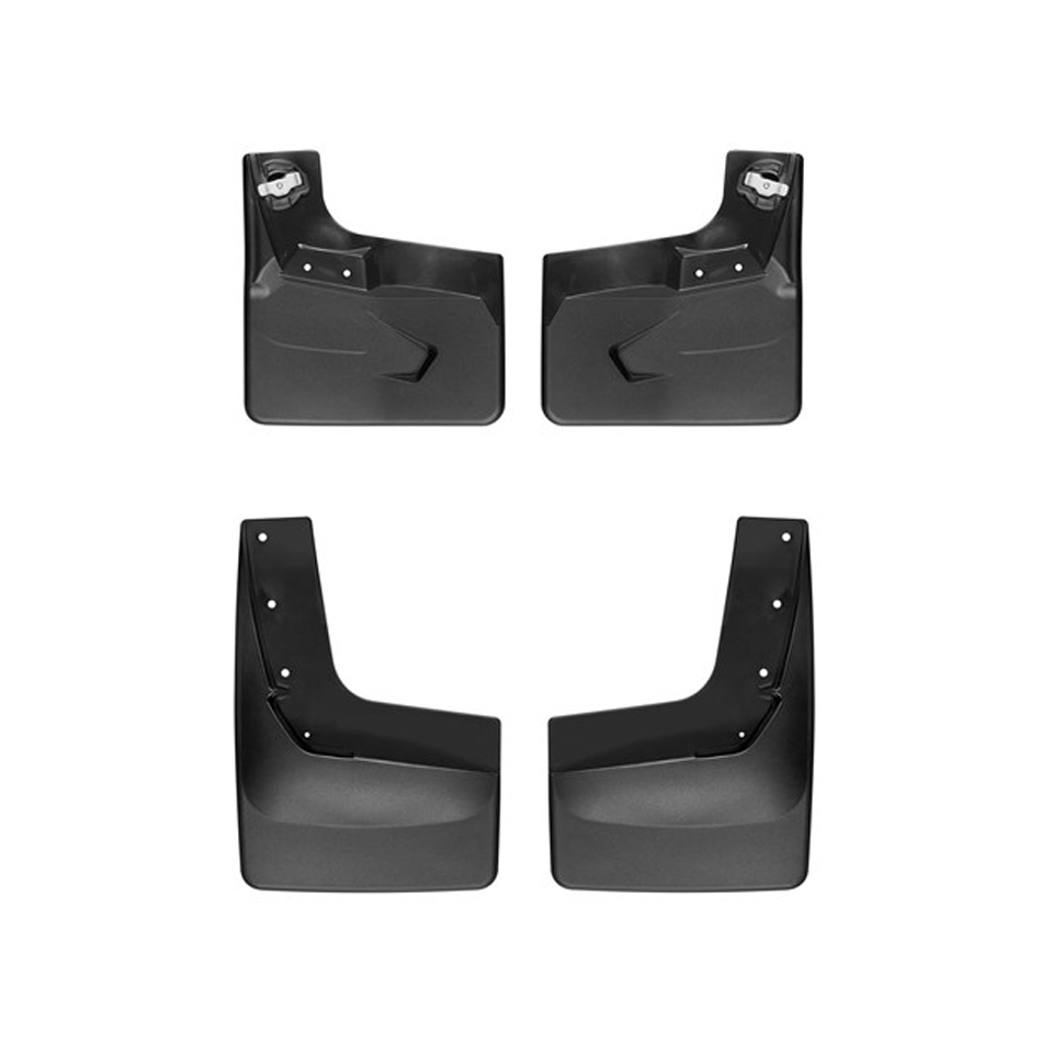 Weathertech Black No Drill MudFlaps 18-   Ford Expedition