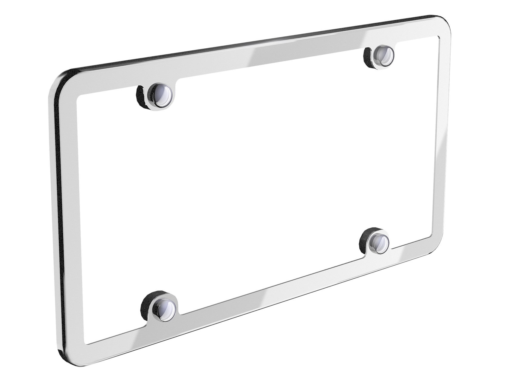 Weathertech Stainless License Plate Frame