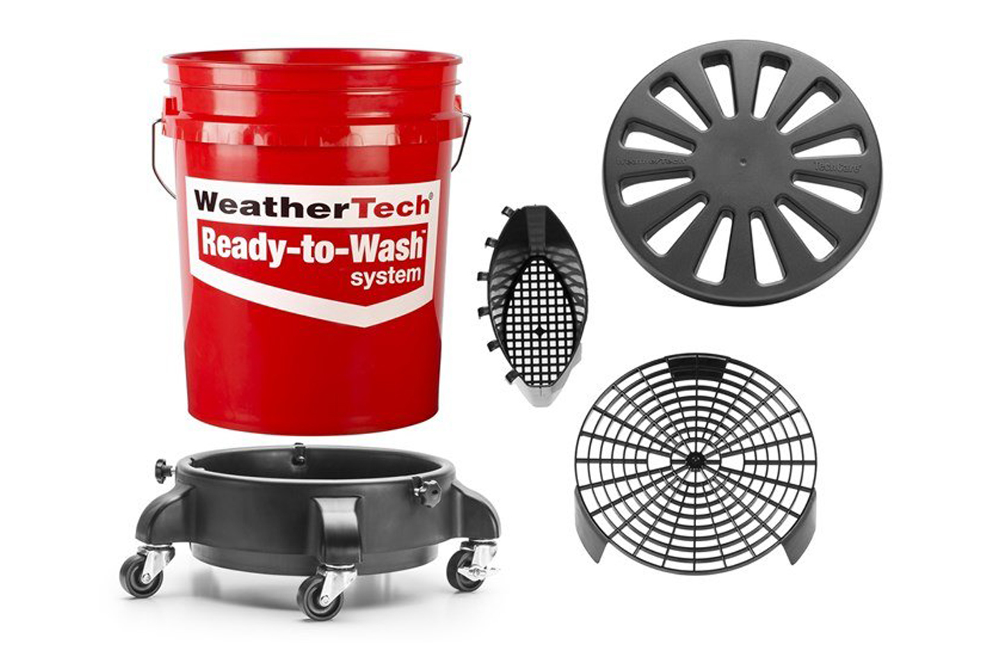 Weathertech TechCare Ready-To-Wash Bucket System