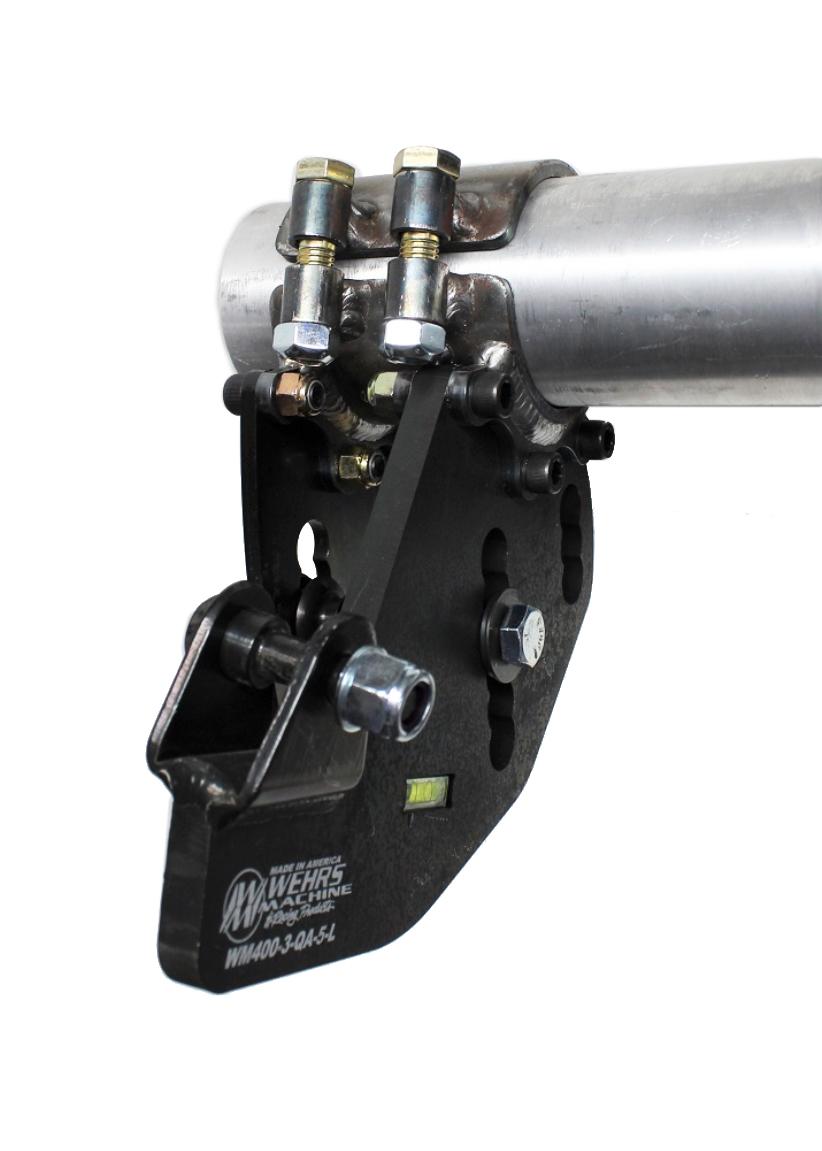 Wehrs Machine Trailing Arm Bracket LR 2-Link 5in Drop