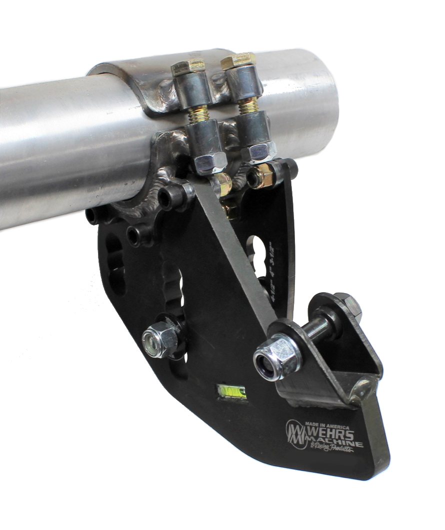 Wehrs Machine Trailing Arm Bracket RR 2-Link 5in Drop