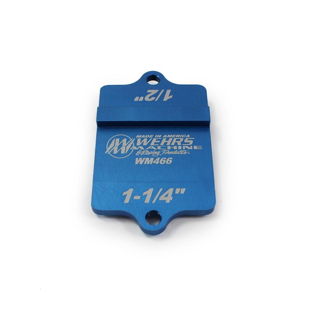 Wehrs Machine Sheetmetal Bend Marker 3/4in & 1in