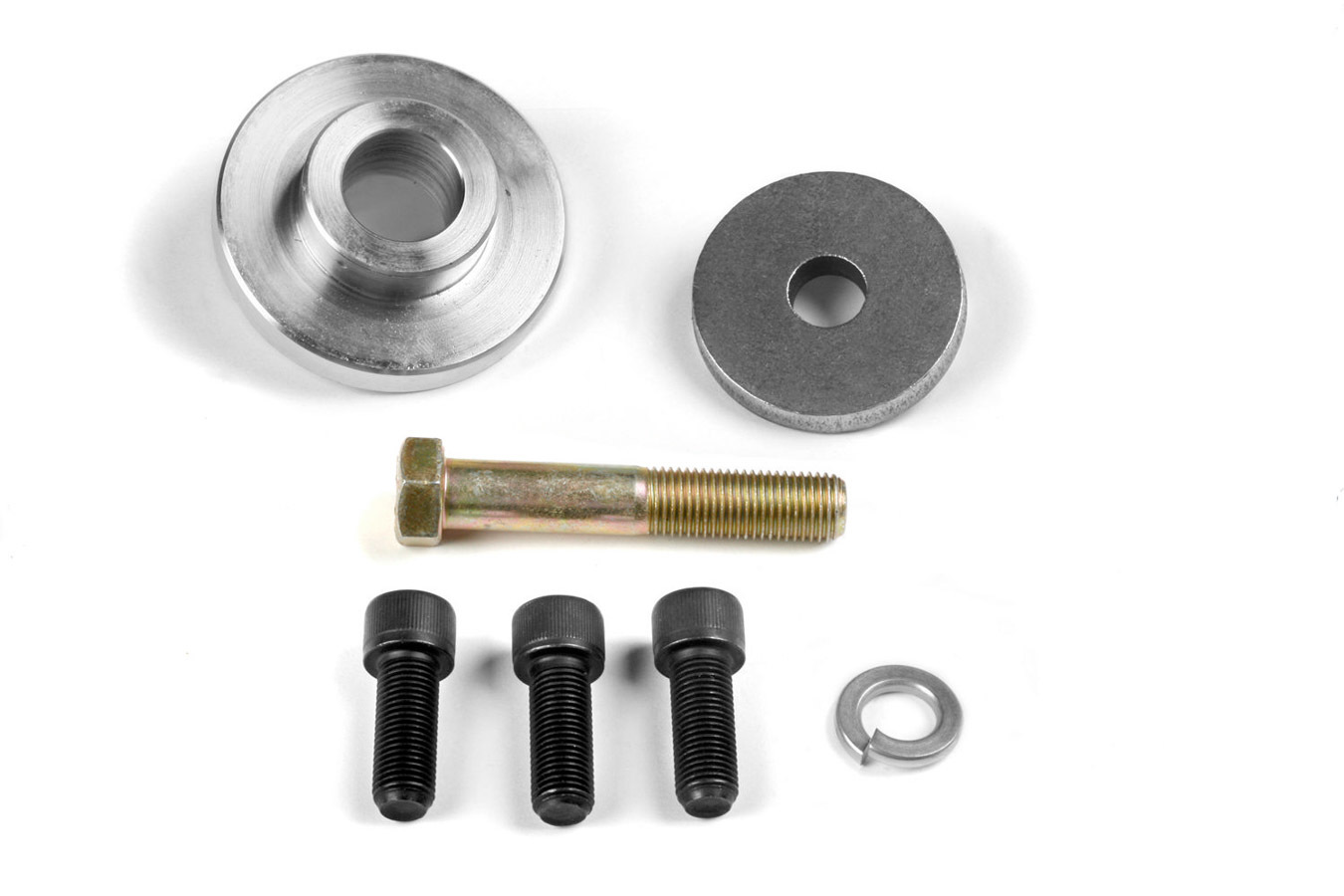 Weiand Locating Pilot Accessory Drive Pulley - SBC