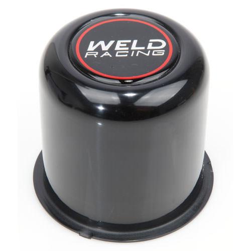 Weld Racing Center Cap - Push Thru. 3.16 OD Black