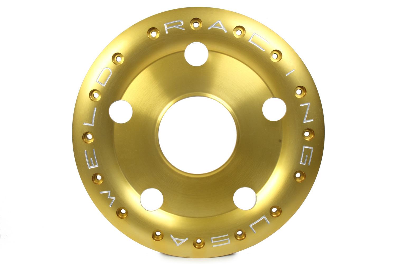 Weld Racing Wheel-15in Oval Ultimate 1-Piece Mud-Loc Ring