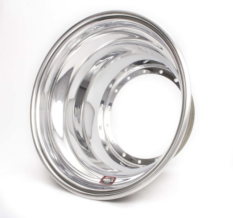 Weld Racing 15X x 7.25 Sprint Outer Wheel Half - No-Loc