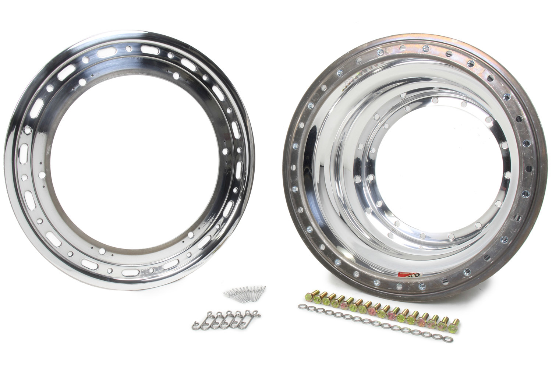 Weld Racing Outer Wheel Half 15x9.25 Bead-Loc w/Dzus No Cover