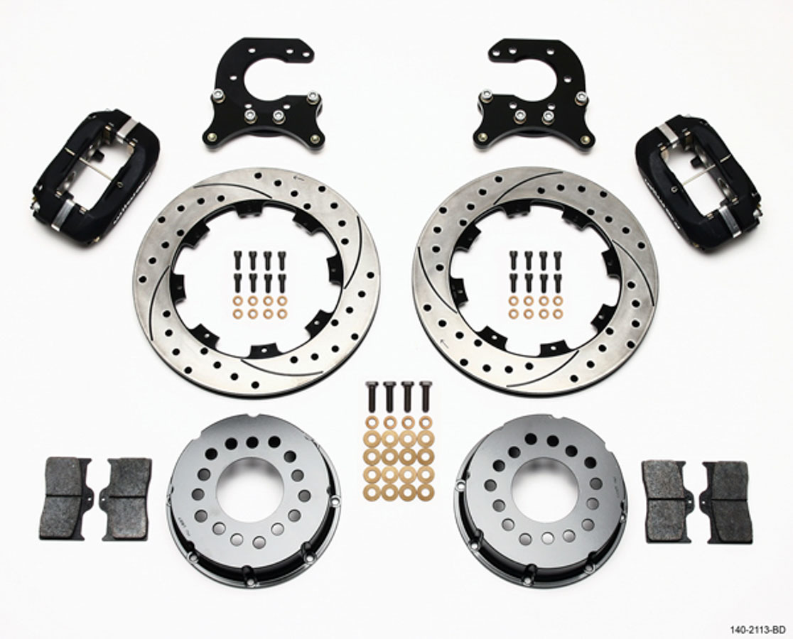 Wilwood P/S Rear Brake Kit Small Ford 2.66in