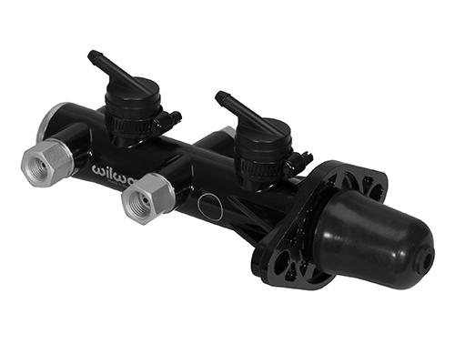 Wilwood Tandem M/C Remote Mnt 1.125in Bore Black