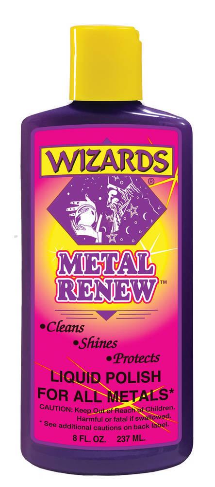 Wizard Products Metal Renew Polish 8oz.