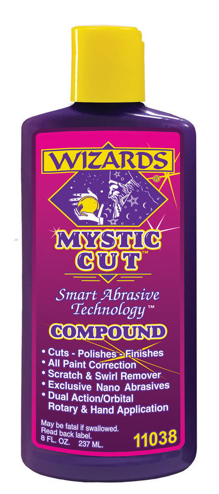 Wizard Products Mystic Cut Compound 8oz.