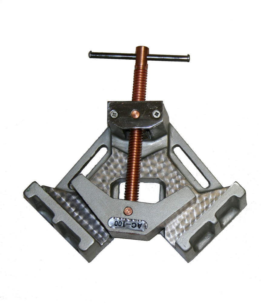 Woodward Fab 4In Cast Iron Welding Clamp 90 Degree