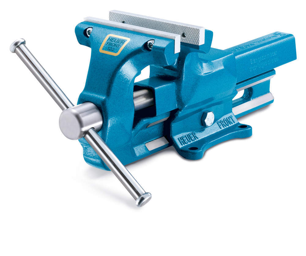 Woodward Fab 140Mm Bench Vise 5-1/2in With Replaceable Jaws