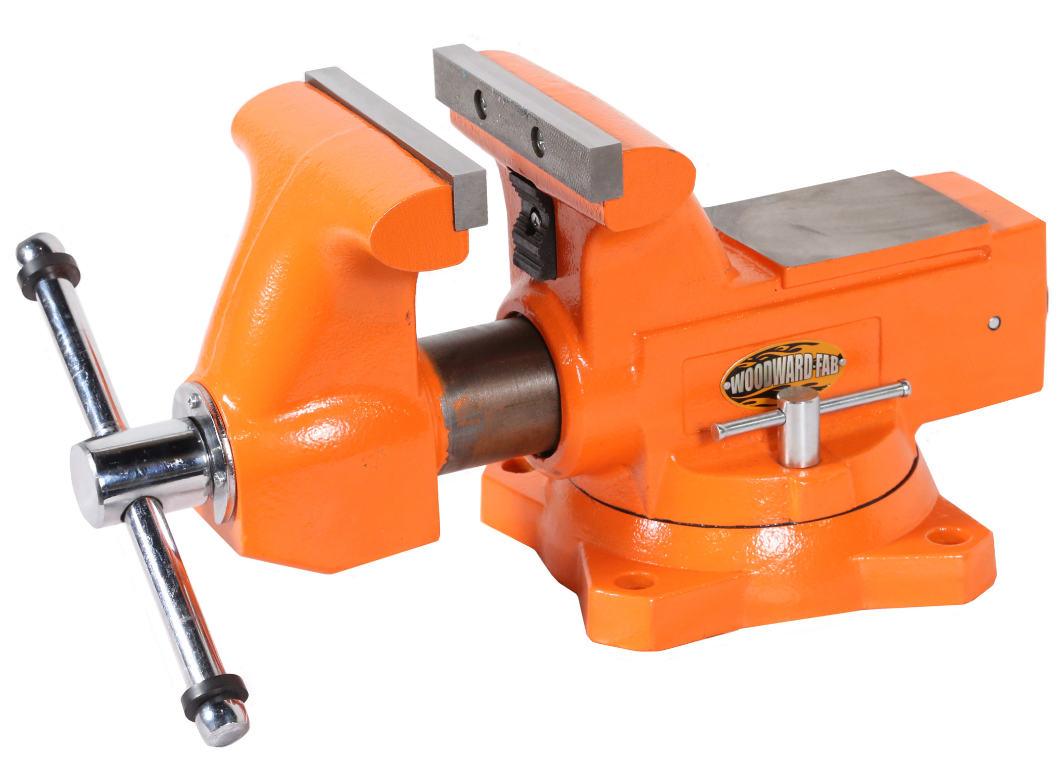 Woodward Fab 6-1/2in Cast Iron Bench Vise
