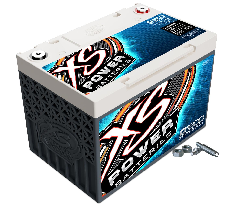 Xs Power Battery AGM Battery 16v 2 Post