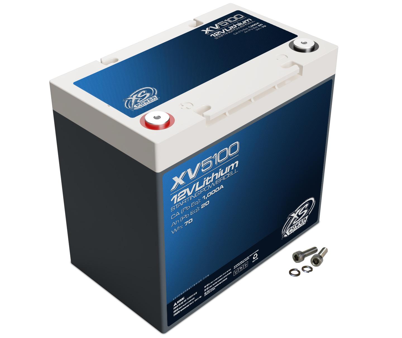 Xs Power Battery Lithium Titan8 XV Series 12 Volt Battery 1000 CA