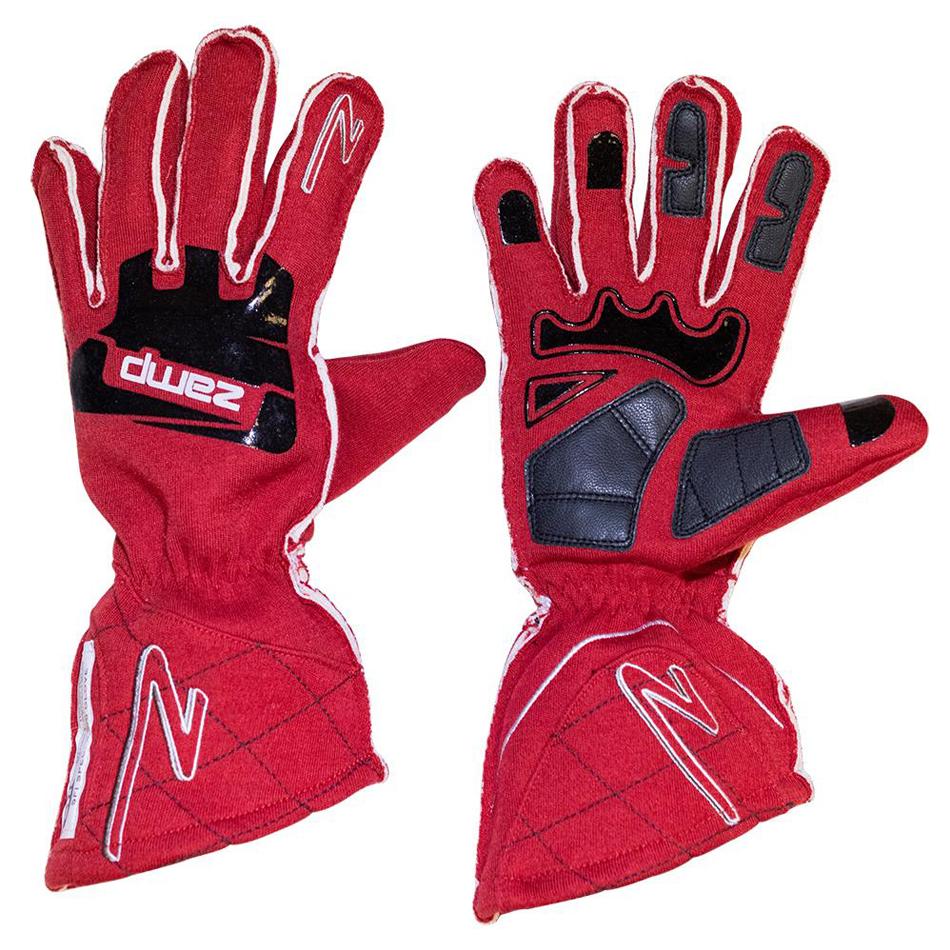 Zamp Gloves ZR-50 Red XX-Lrg Multi-Layer SFI 3.3/5