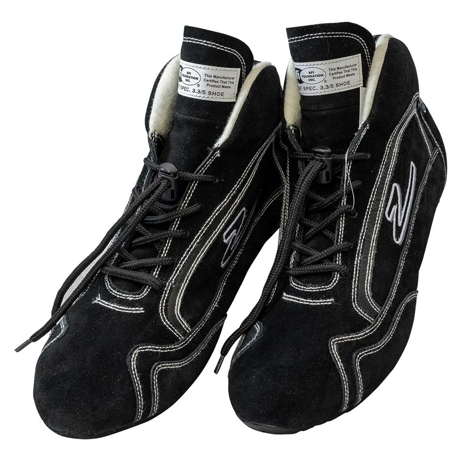 Zamp Shoe ZR-30 Black Size 10 SFI 3.3/5