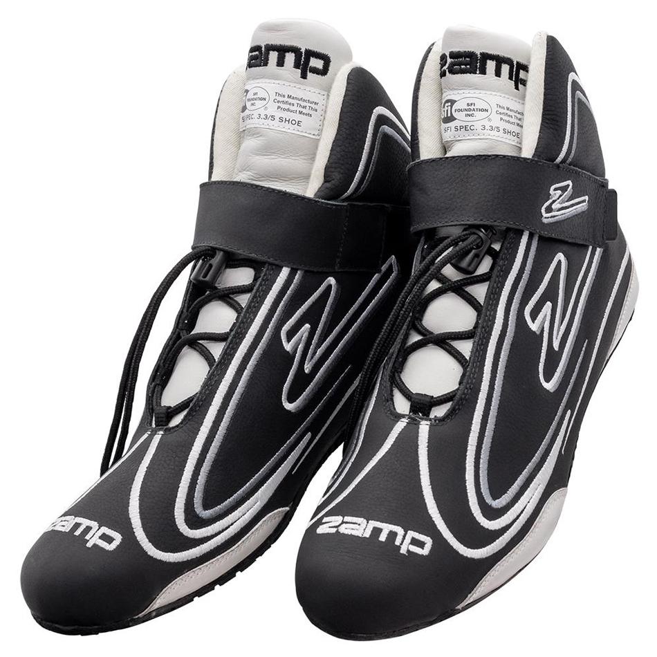 Zamp Shoe ZR-50 Black Size 9 SFI 3.3/5