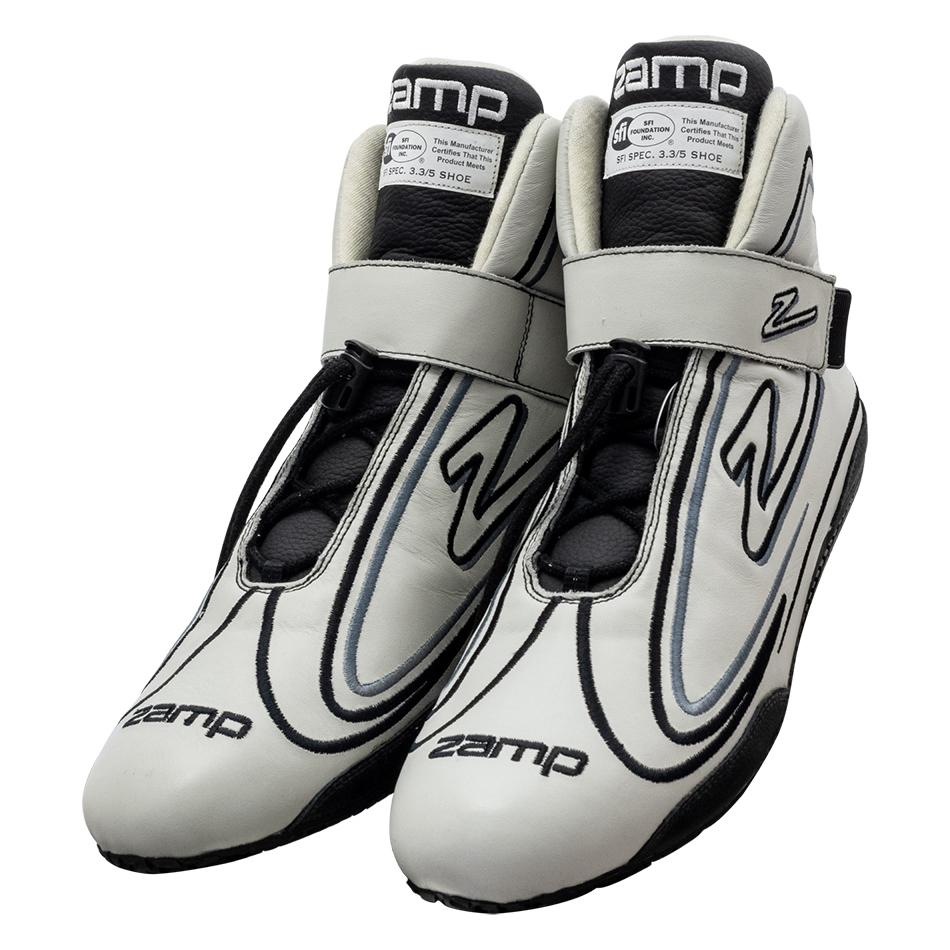 Zamp Shoe ZR-50 Gray Size 13 SFI 3.3/5