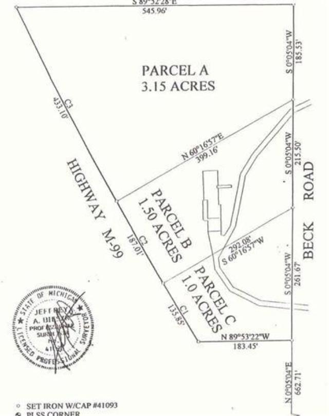 M 99 Rd Jonesville, MI 49250