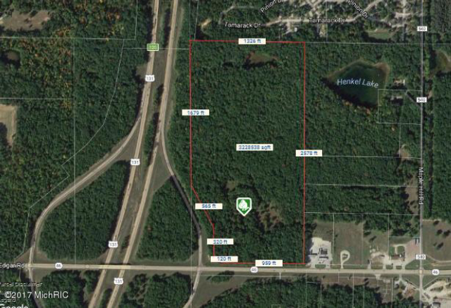 0000 W Hc-Edmore Rd Howard City, MI 49329