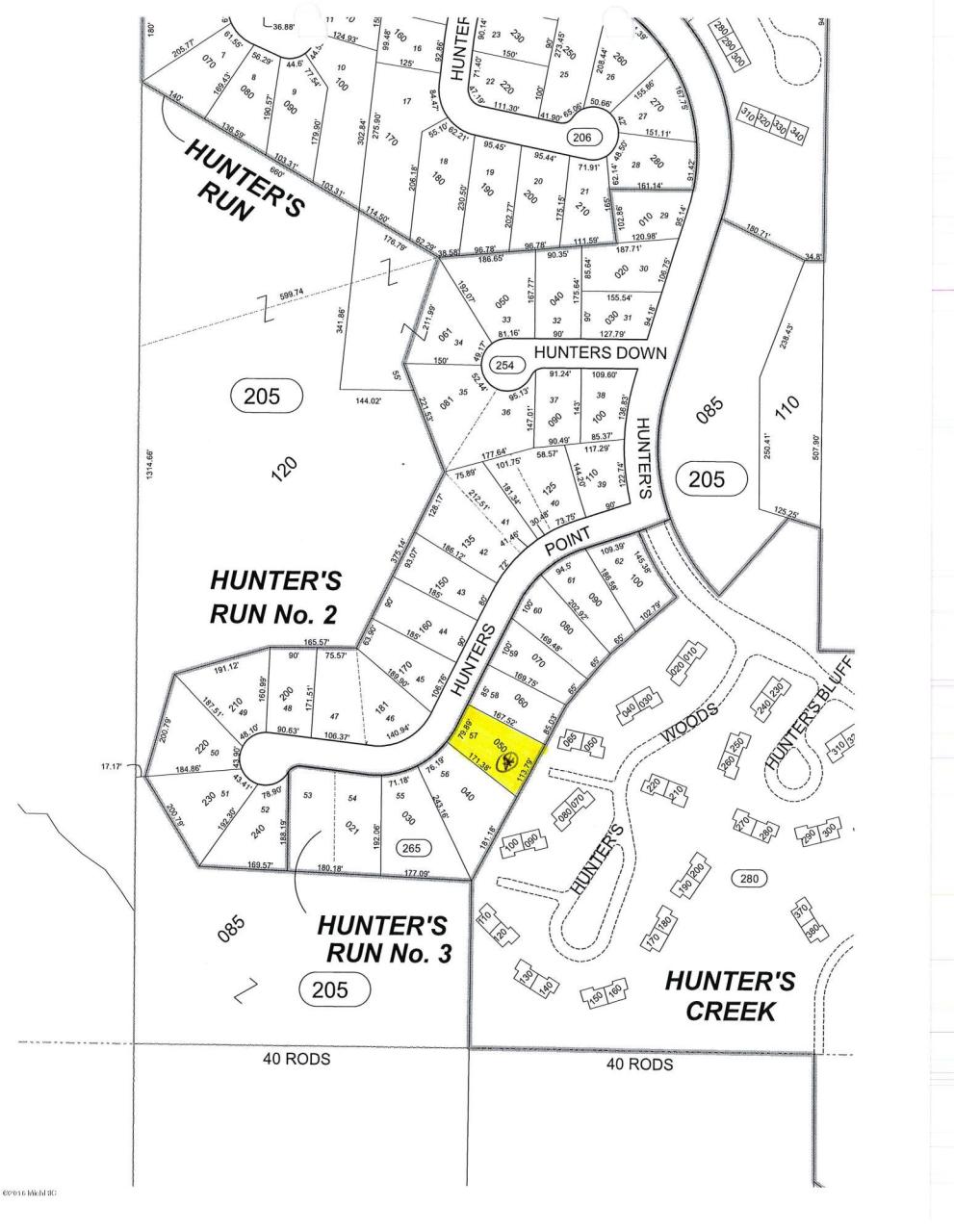 2612 Hunters Point  Kalamazoo, MI 49048