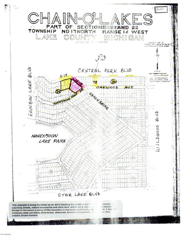 7 W Central Park Boulevard Baldwin, MI 49304