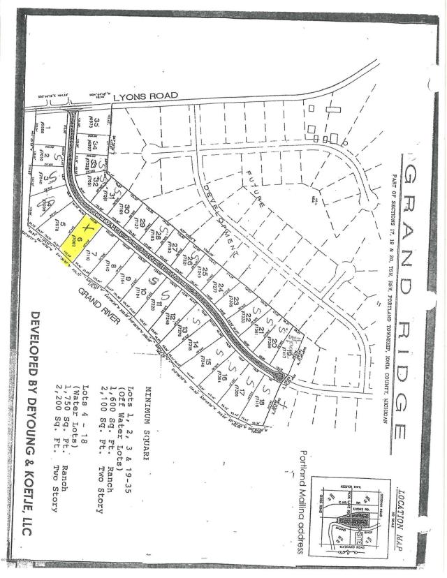 7082 Cedar Ridge Dr Portland, MI 48875