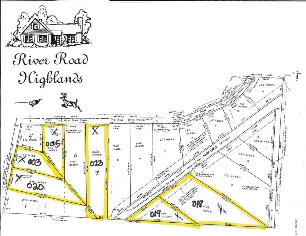 Lot 18 Raap Dr Grant, MI 49327