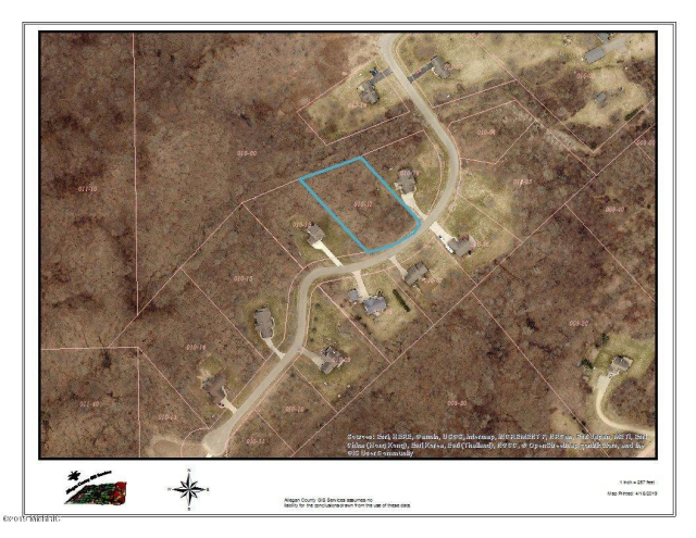 Lot 17 Fox Mountain Dr Otsego, MI 49078