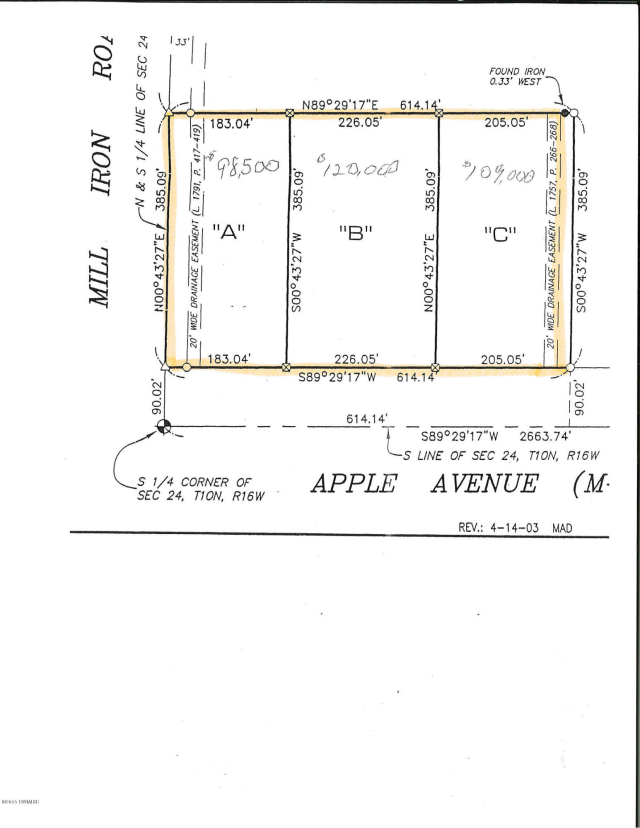 3672 E Apple Lot B Ave Muskegon, MI 49442