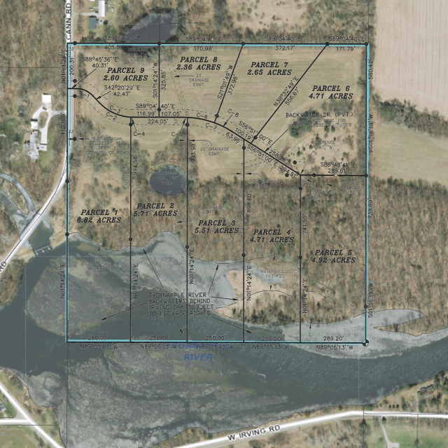 Backwater Dr - Parcel 9  Hastings MI 49058