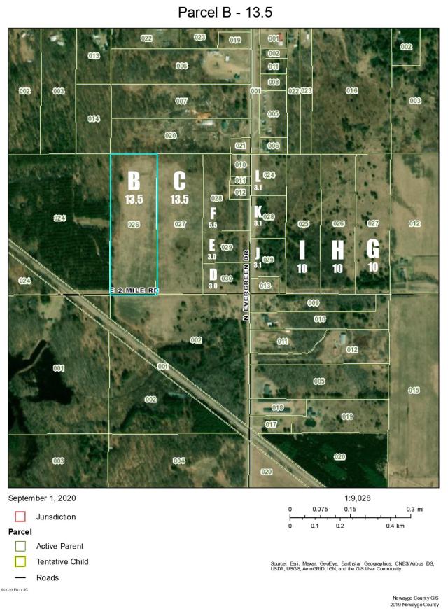 V/L E 2 Mile Parcel C Rd White Cloud MI 49349