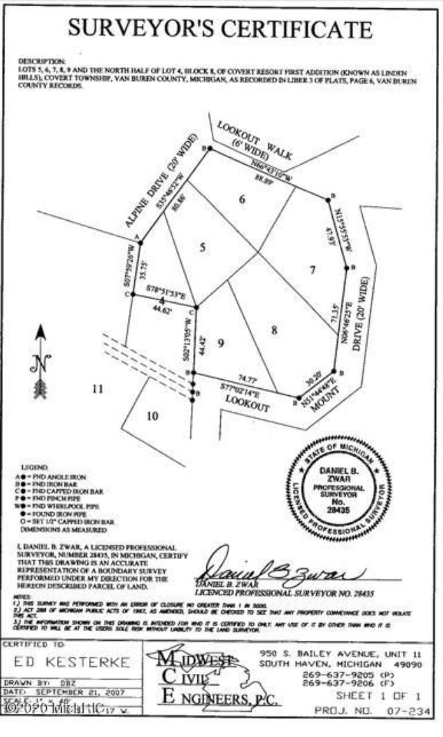 80150 Linden Hills St Covert, MI 49043