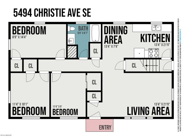 5494 Christie Ave Se  Kentwood, MI 49508