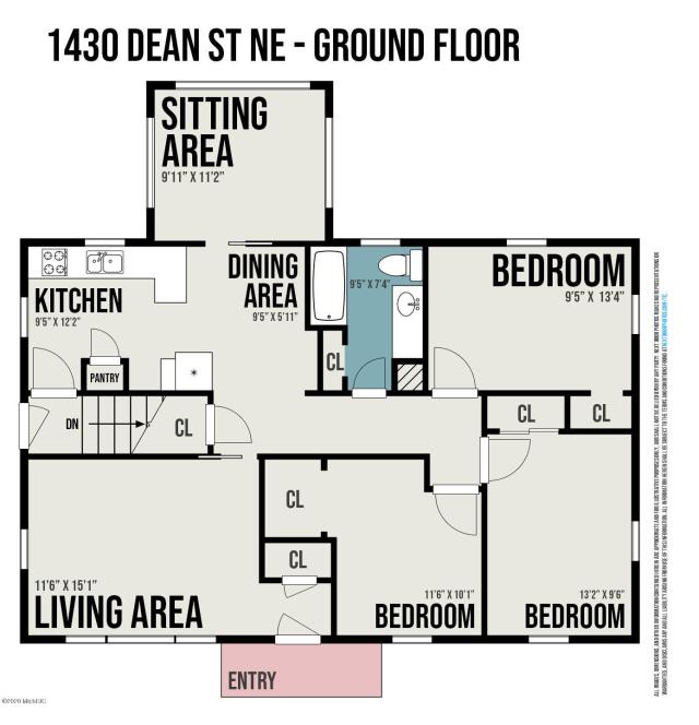 1430 Dean Ne St Grand Rapids, MI 49505