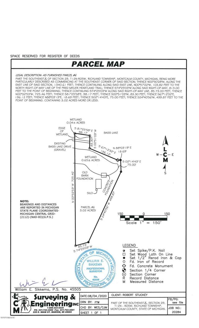0001 0006 S Bass Lake Dr Vestaburg, MI 48891