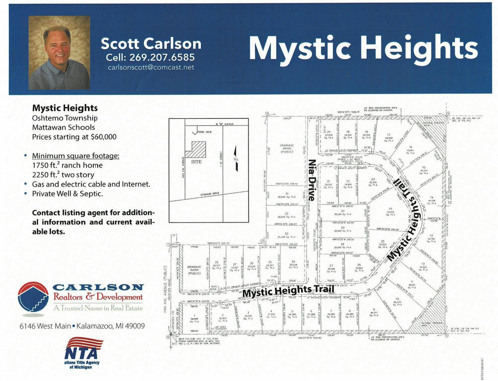 10833 Mystic Heights 8 Trail Mattawan, MI 49071