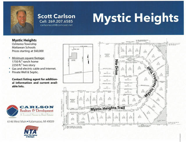 10662 Mystic Heights 23 Trail Mattawan, MI 49071