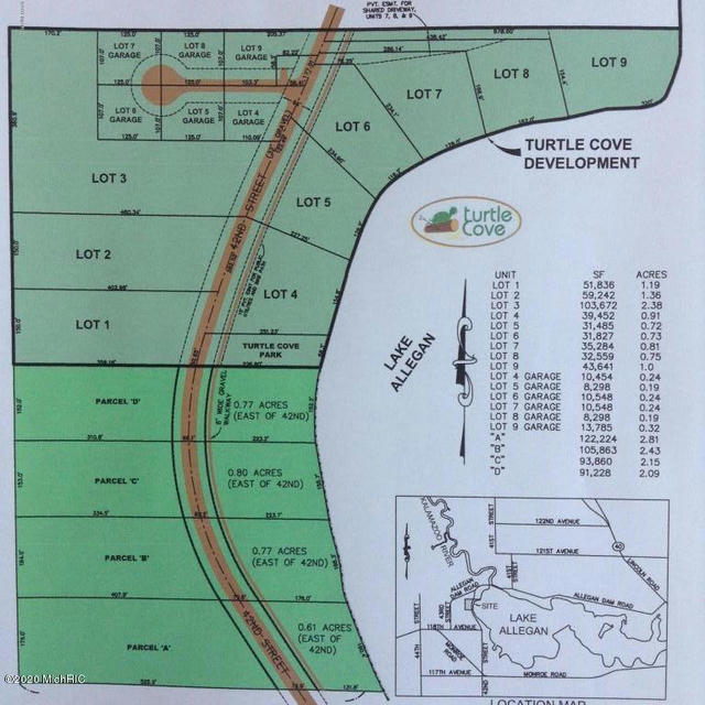 Lot 2 42nd St  Allegan, MI 49010