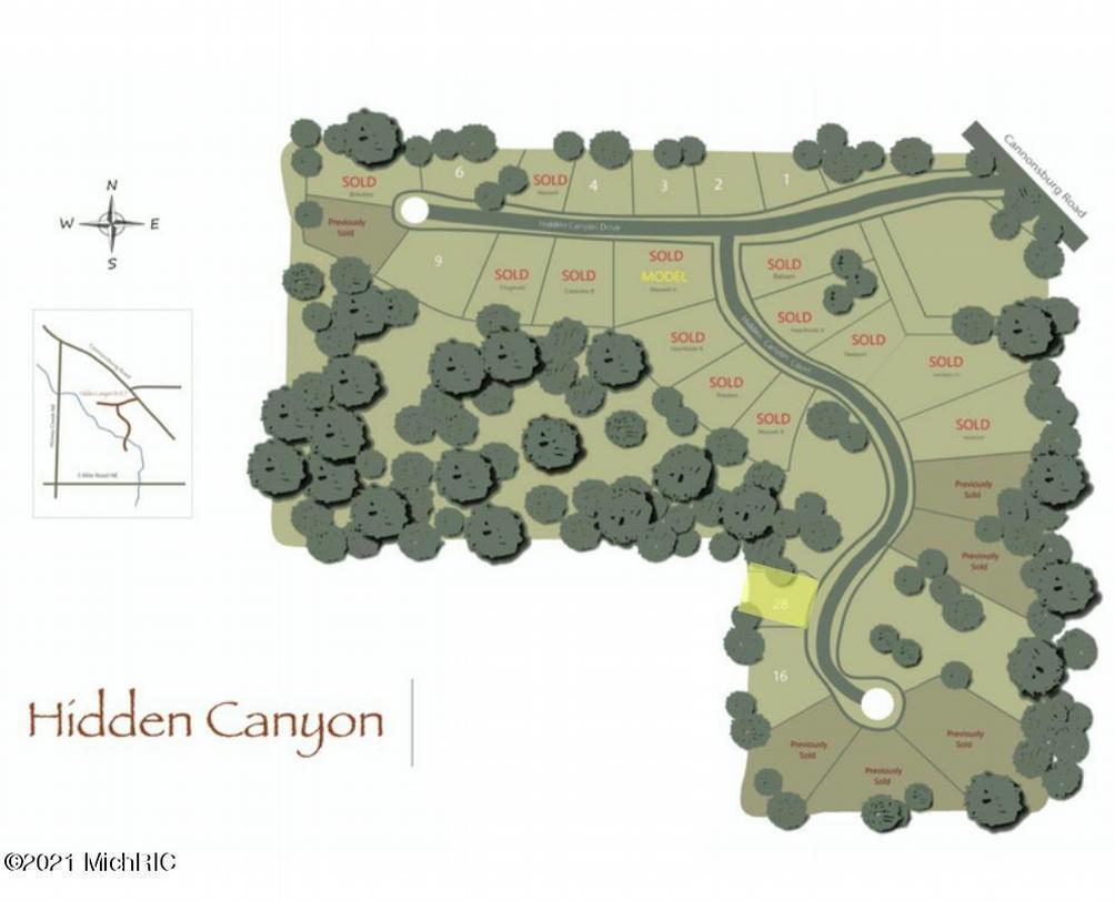 4575 Hidden Canyon 28 Ne Ct Ada, MI 49301