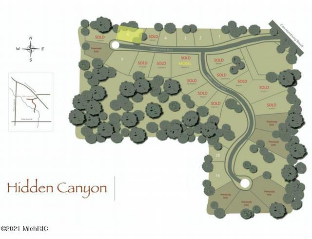 8213 Hidden Canyon 6 Ne Dr Ada, MI 49301