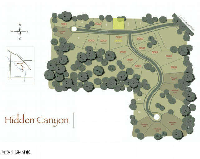 8275 Hidden Canyon 3 Ne Dr Ada, MI 49301